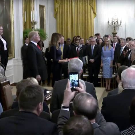 WATCH LIVE: President Trump, First Lady Address the Nation on Opioid Crisis