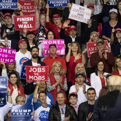 MSNBC MELTDOWN: Network Host Says REAL 'MOBS' are Those Attending Trump Rallies