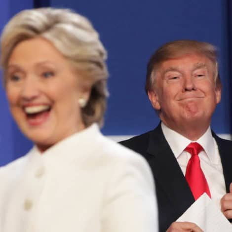 THE REMATCH? Trump Says He'd be 'VERY HAPPY' Running Against Hillary in 2020