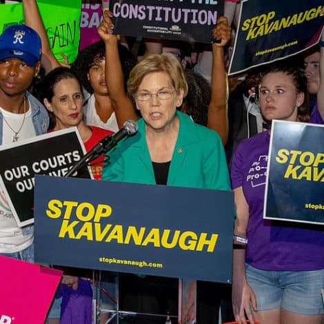 WARREN: Kavanaugh 'One Step Away,' Time to 'Protest' With 'Everything We've Got'