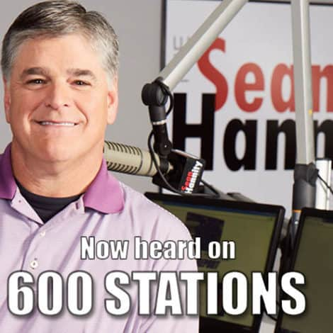 MEDIA MILESTONE: Sean Hannity Now Heard on 600 RADIO AFFILIATES Nationwide