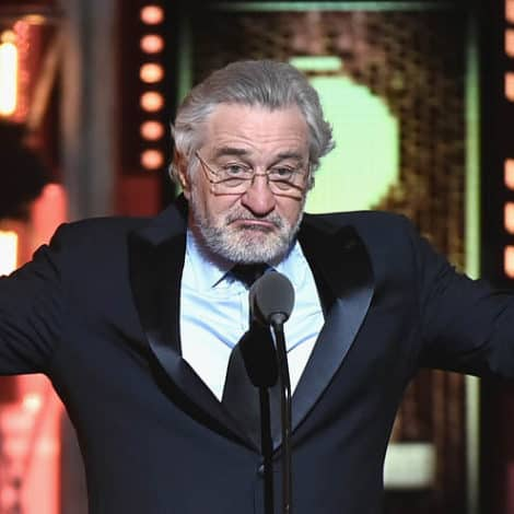 DE NIRO ON TRUMP: 'Down with This Motherf****r!!'