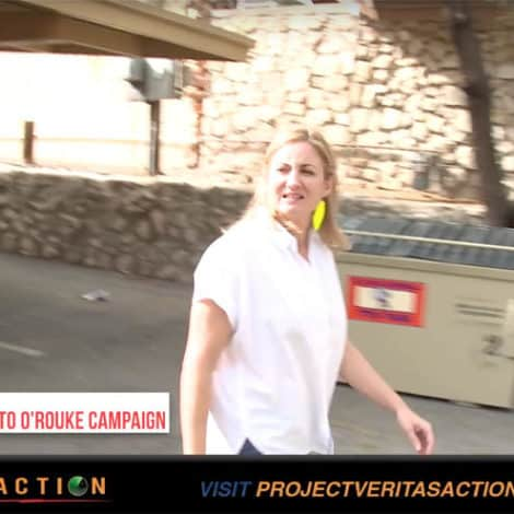 BETO UPDATE: James O'Keefe Confronts O'Rourke Campaign Manager over Caravan Aid