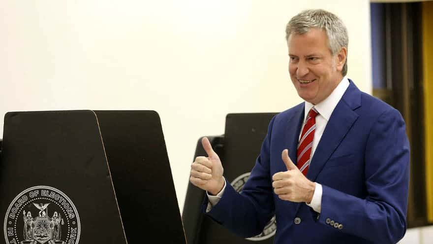 Partner Content - 'WORST MAYOR EVER': De Blasio -Polling at 0.00%- Says He Has 'Nowhere to Go but UP!'