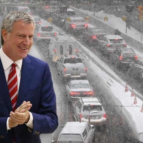 DE BLASIO DEFLECTS: NYC Mayor Blames Big Apple CHAOS on 'Bad Luck'