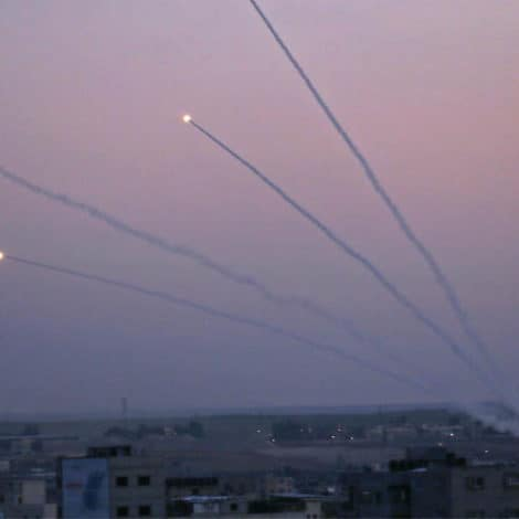 ISRAEL ON EDGE: Over 70 Missiles Fired from Gaza into Israel