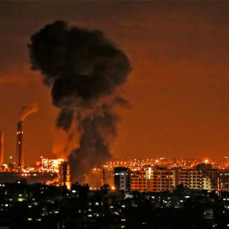 ON THE BRINK: Palestinian Militants Fire 400 ROCKETS into Israel