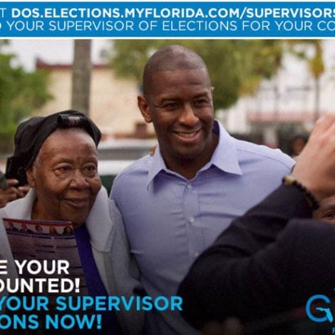 IT BEGINS: Andrew Gillum Urges Supporters to Contact 'County Supervisors' after Midterms