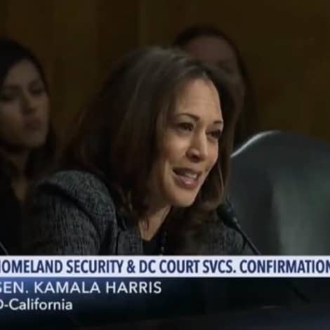 VICIOUS: Sen. Harris Compares ICE to the KKK During Congressional Hearing