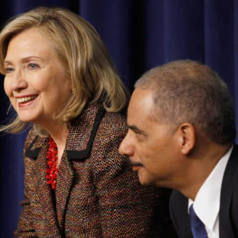 UNDERMINING ELECTIONS? Holder, Hillary Question Legitimacy of Georgia Governor's Race