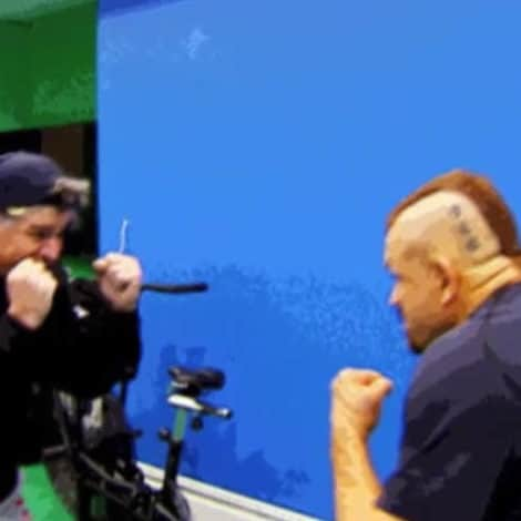 MUST SEE: Watch Sean Hannity SQUARE OFF with LEGENDARY Ultimate Fighter Chuck Liddell