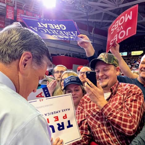 EXCLUSIVE: See Hannity's Photos from INSIDE TRUMP'S MAGA Rally in Missouri