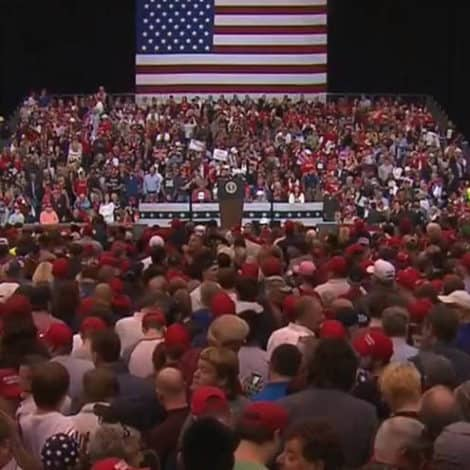 WATCH LIVE: President Trump Holds 'MAGA' Rally in Ohio ONE DAY Before Midterm Elections