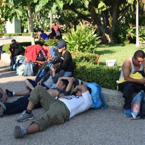 CARAVAN STALLS: 'Migrant Caravan' Stalls After Mexican Government Denies Buses