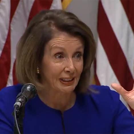 PELOSI'S PREDICTION: Nancy Says She's '100% SURE' Dems Will Retake the House