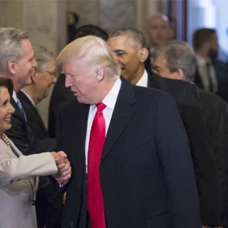 PRESIDENT TRUMP: Nancy Pelosi 'Deserves to be Speaker of the House'