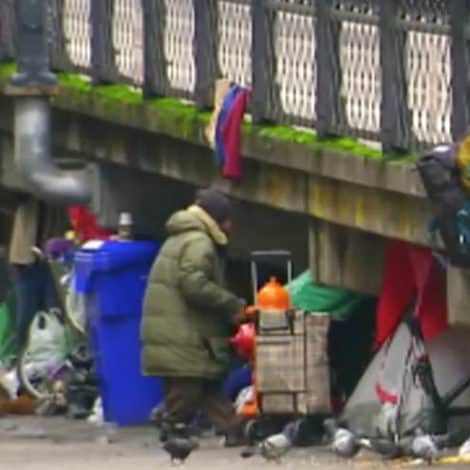 CALIFORNIA CHAOS: Taxpayers to Spend $400,000 to Clean Up Homeless Camps Across Capital