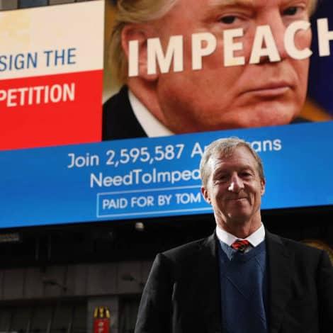 DERANGEMENT SYNDROME: Anti-Trump Billionaire Publishes Thanksgiving 'Impeachment Guide'