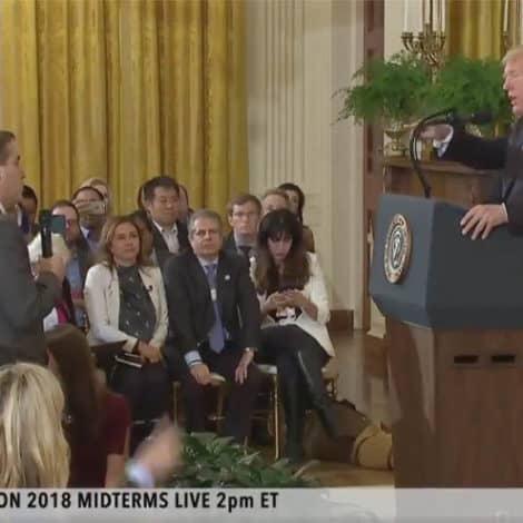 FIREWORKS: President Trump Tells CNN's Jim Acosta to 'PUT DOWN THE MIC'