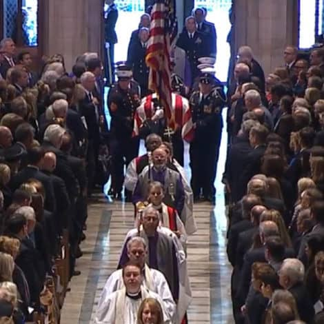 WATCH LIVE: The Funeral of George H.W. Bush, 41st President of the United States