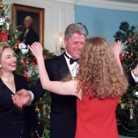CHRISTMAS WISHES: Hillary Posts Holiday Message of Herself Inside the White House