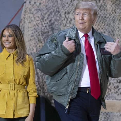 WHOOPS! Media Trashes Trump for 'Not Visiting Troops' Hours Before Landing in Iraq