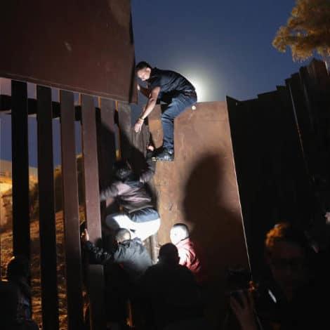 BORDER BREACHED: 'Frustrated' Migrants 'Breach' US-Mexico Border
