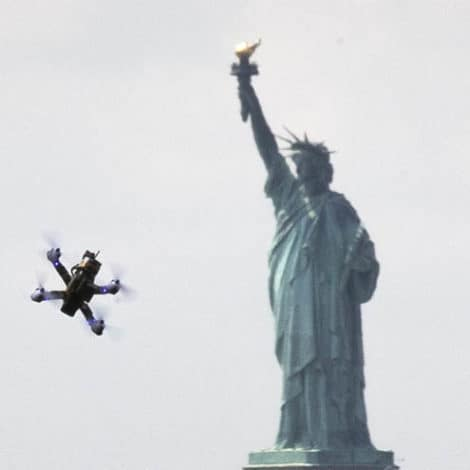 EYES IN THE SKY: NYPD Launches New, Cop-Controlled DRONE Fleet over the Big Apple