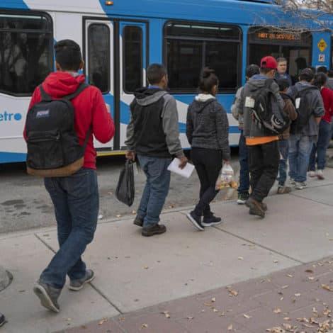 REPORT: More than 500 Members of Migrant Caravan 'Released' in Downtown El Paso