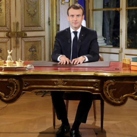 MACRON SPEAKS: French President Begs Businesses to Pay Employees Bonuses, Increase Wages