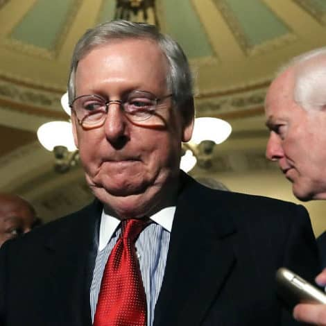 DEVELOPING NOW: McConnell 'REJECTS' Nuclear Option, Says GOP Votes 'Are Not There'