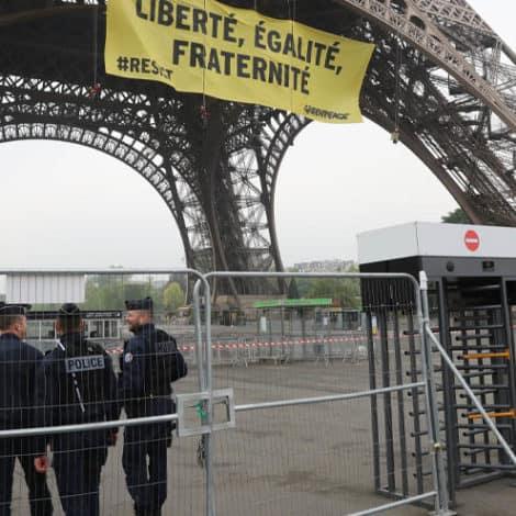 PARIS BRACES: France SHUTS DOWN Eiffel Tower, 89K 'Security Forces' Deployed