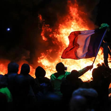 PARIS BURNING: Macron Predicts 'Major Violence' Across France, Approval Drops to 18%
