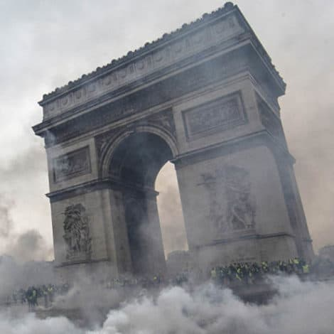 PARIS BURNING: Macron Caves, Delays 'Fuel Tax' for SIX MONTHS as Violent Protests Rock France