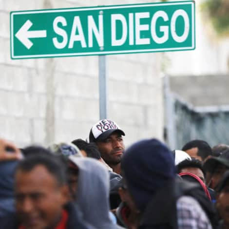 TAPPED OUT: San Diego Non-Profits 'Running Out of Space' for 'Migrant Caravan' Members