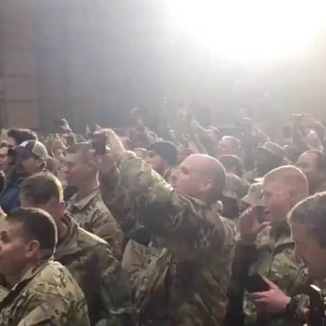 'USA! USA!': President Trump Gets 'HUGE' Reception by US Troops in Iraq