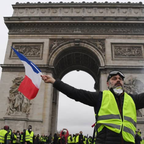 MACRON SURRENDERS: France Moves to Permanently 'Abandon' Climate Tax After Protests
