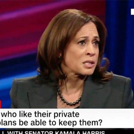 KAMALACARE? Sen. Harris Calls for 'Elimination' of Private Health Insurance Across US