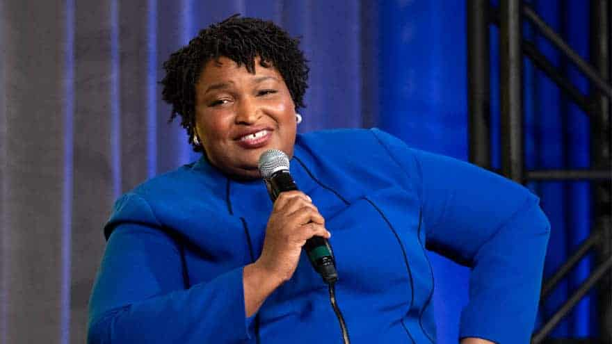 Partner Content - LET IT GO: Stacey Abrams Claims GOP 'Suppressing Vote' and 'Dismantling ...