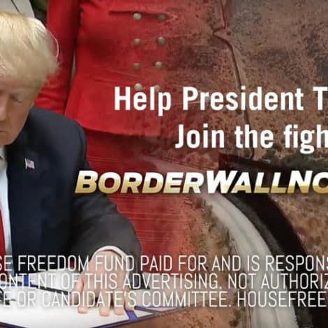 BORDER WALL NOW: Tell Congress to Fully Fund President Trump's BORDER WALL Now