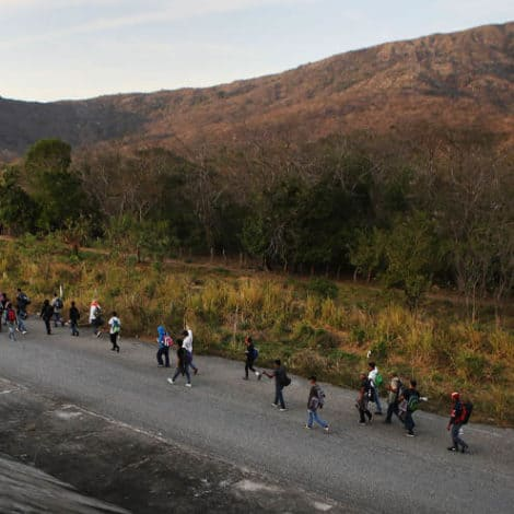 BORDER CRISIS: Member of 'Migrant Caravan' Detained at US Border with 'Flesh-Eating Bacteria'