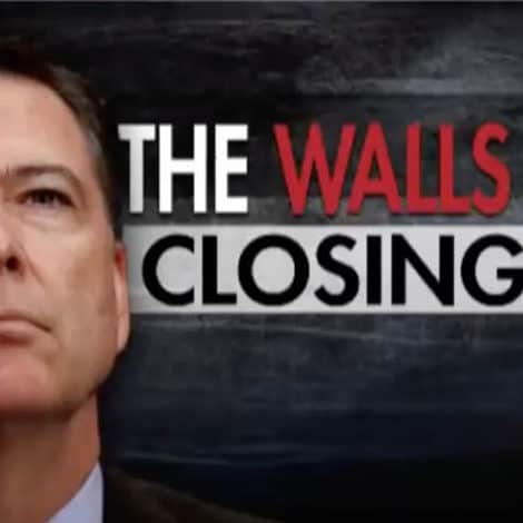 HANNITY: The Walls are Closing-In on 'Hateful Narcissist' James Comey