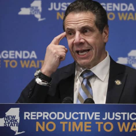 NY GOVERNOR: I'm 'Not Here to Legislate Religion' Regarding Late-Term Abortions