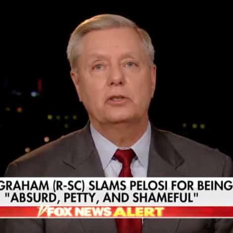 GRAHAM SLAM: Sen. Graham BLASTS 'Absurd, Petty, and Shameful' Nancy Pelosi