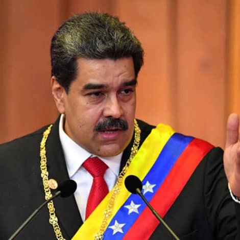 ANOTHER TERM: Venezuela's Socialist President Sworn-in for SECOND Six-Year Term