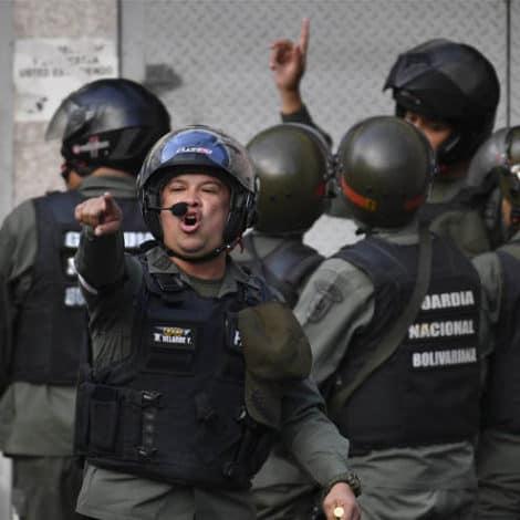 'MUTINY': Venezuela 'Puts Down' Uprising from Rogue National Guard Faction