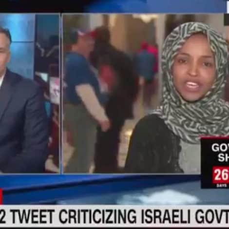 WATCH: Dem. Rep. DEFENDS Anti-Israel Tweet Saying Jewish State Has 'Hypnotized' the World
