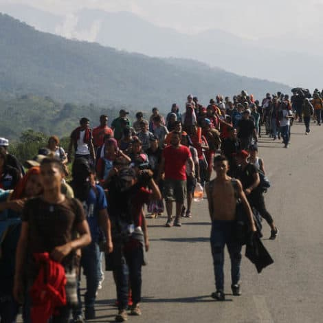 REPORT: US Tracking THIRD Migrant Caravan, Estimated at 12,000 People
