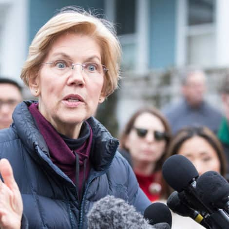 CLIMATE CONFUSION: Sen. Warren Says 'Green New Deal' Will Prevent Future 'Polar Vortexes'