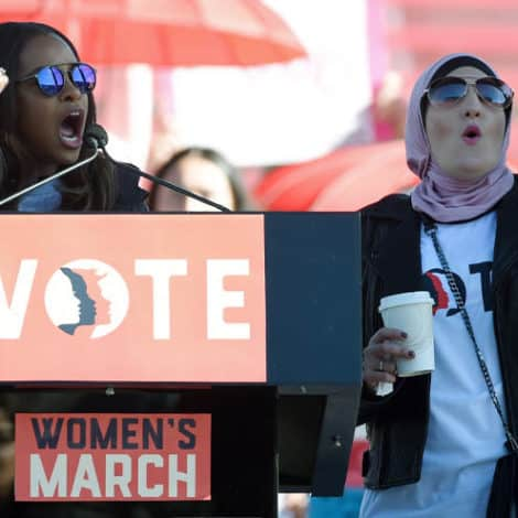 ABOUT TIME: DNC Severs Ties with Women's March Over Accusations of Anti-Semitism, Homophobia